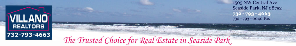 Villano Realtors.  The Trusted Choice for Real Estate in Seaside Park