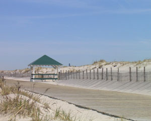 An entrance to the Beach in Seaside Park